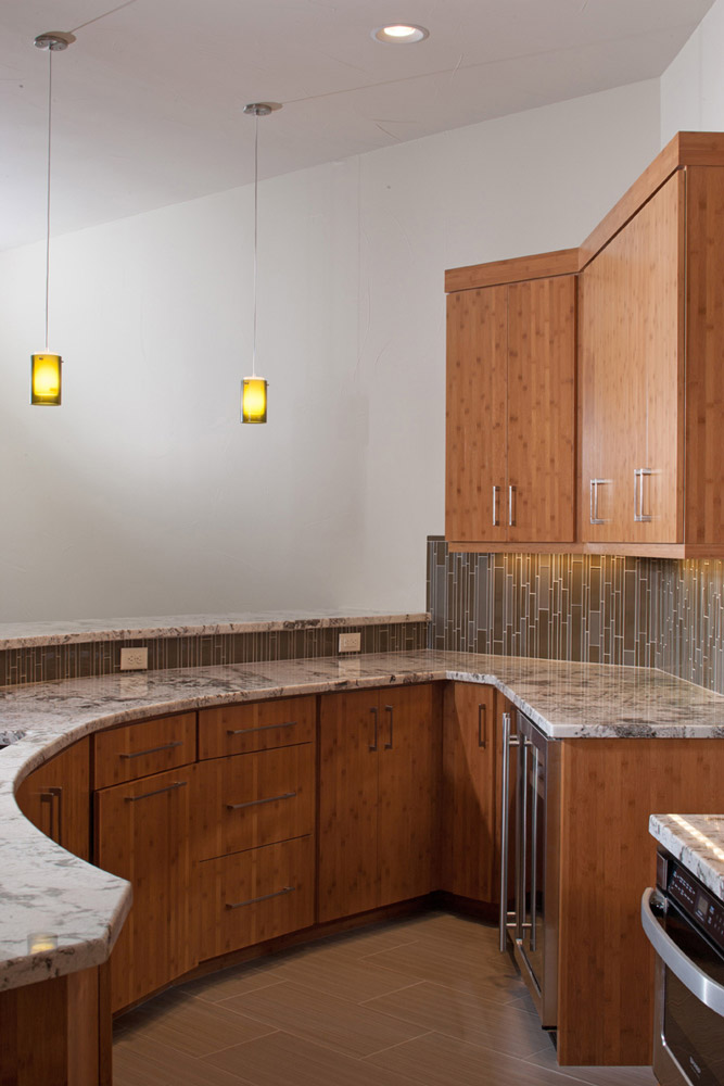 Basement wet bar details