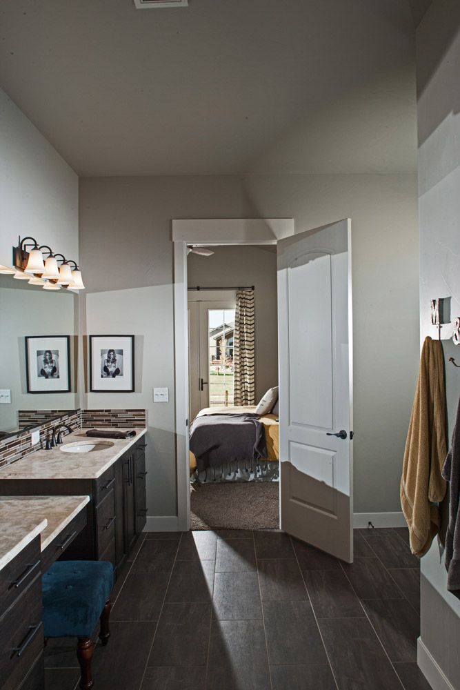 Interior image, Master Bathroom