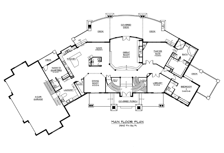 Image of main floorplan for The lakeshore