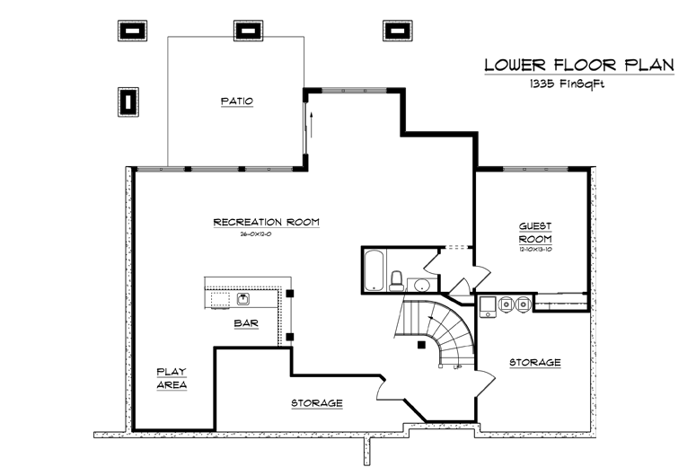 Image of main floorplan for The pier