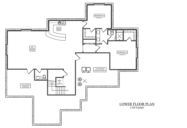 Image of main floorplan for The vineyard