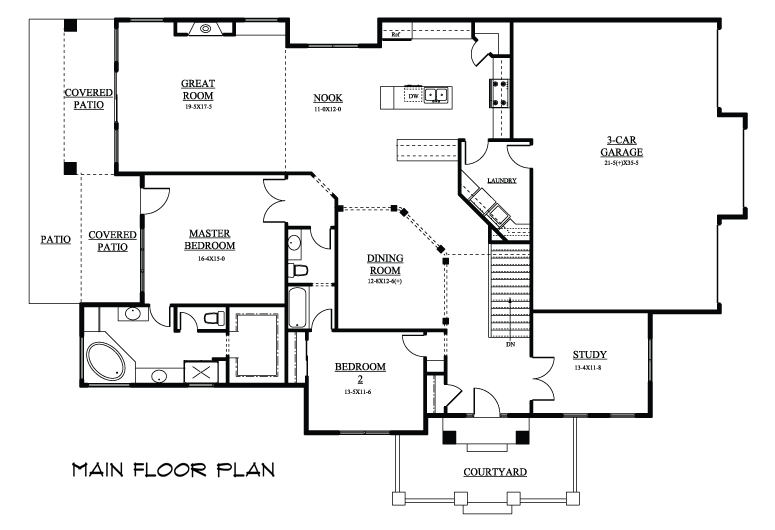 Image of floorplan for The Dell
