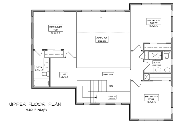 Image of main floorplan for The canyon