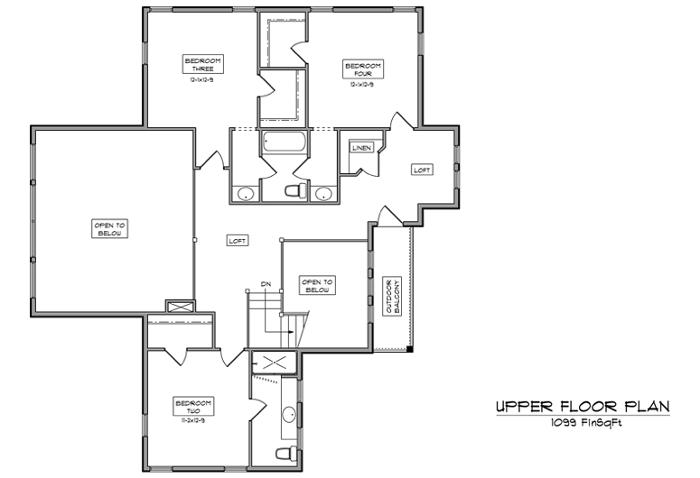 Image of main floorplan for The knoll