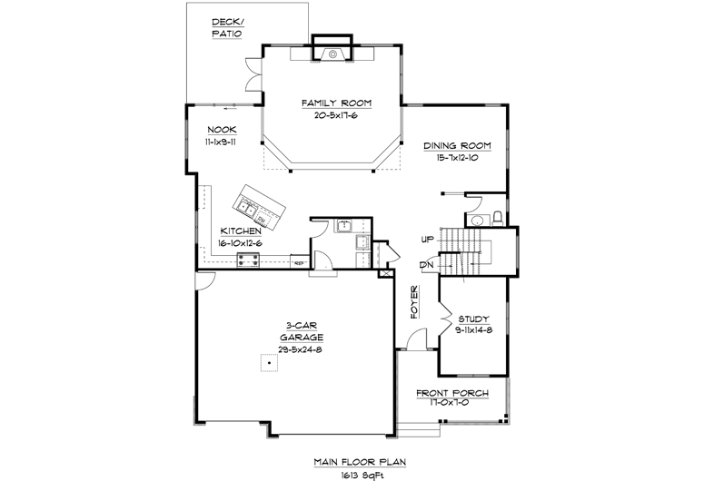 Image of main floorplan for The lookout