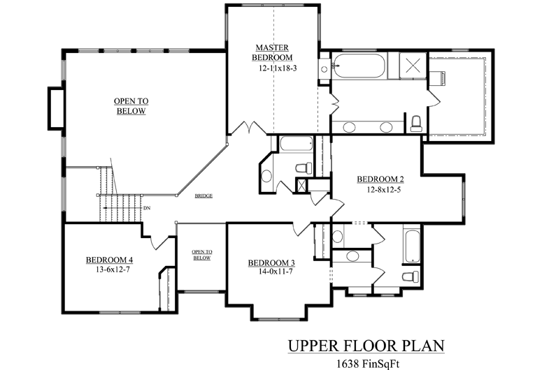 Image of main floorplan for The tallgrass
